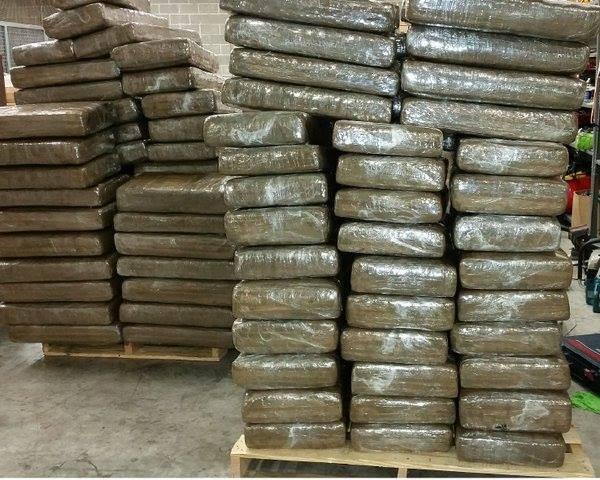 Straż graniczna znalazła 1000 kilogramów marihuany, która ukryta była w przesyłce handlowej, CannApteka.pl
